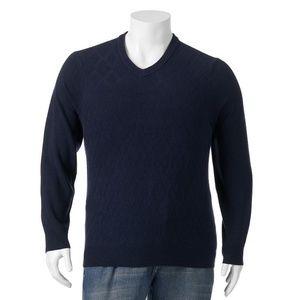 Dockers Argyle Soft Comfort Touch Sweater LT